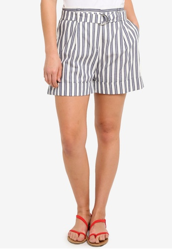 ESPRIT white Woven Regular Shorts B81E7AAD376982GS_1