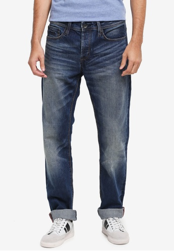 Superdry blue Officer Jeans SU137AA0T22ZMY_1