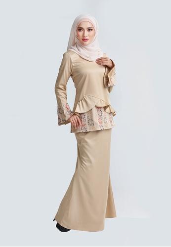 AUNI KURUNG from Rasa Sayang in Brown
