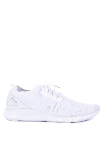 Fila white Marvel Lite Running Shoes 4D164SH0832814GS_1