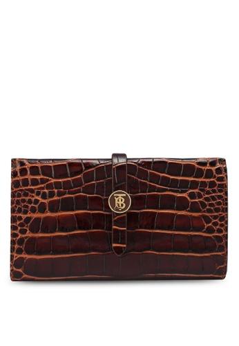 Burberry brown Henley Wallet (zt) 0C39BAC0810C61GS_1