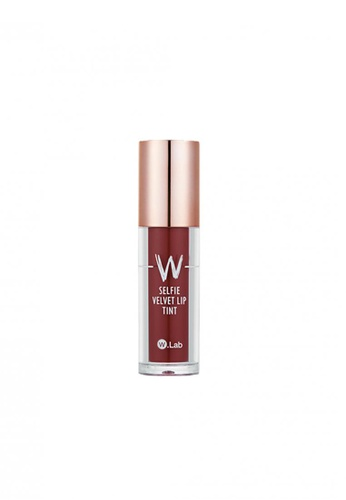 W.Lab red W.LAB SELFIE VELVET LIP TINT 01 RED BOOM BE0E9BE3033389GS_1