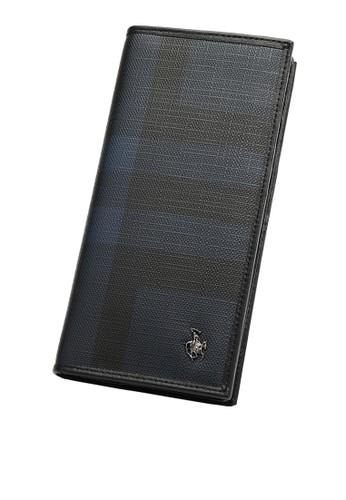 Swiss Polo blue Swiss Polo Rfid Blocking Long Wallet 4C84BAC26ED248GS_1