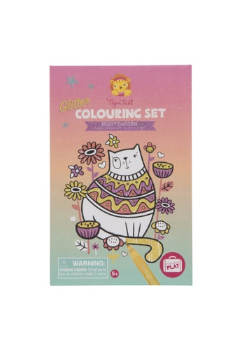 Tiger Tribe Glitter Colouring Set Night Garden 80343THFA31B27GS_1