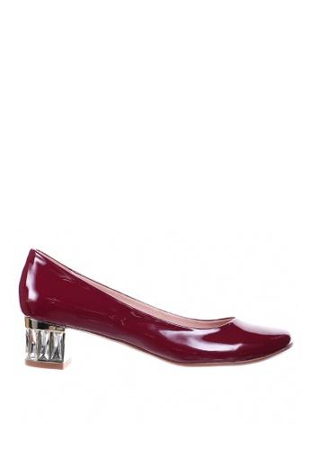 PRODUIT PARFAIT red Rhinestones Heel Dress Pumps 5A2A6SH6FB66CDGS_1