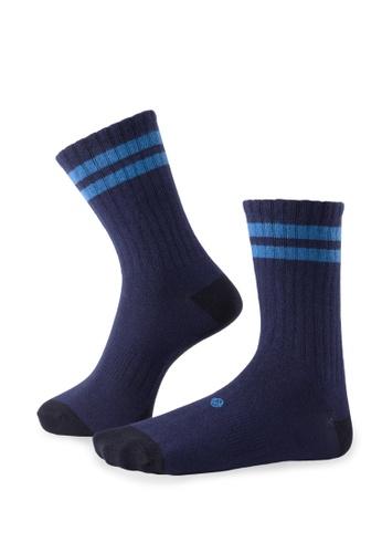 Life8 blue Men & women casual socks-05293-Blue LI283AA0GPVQSG_1