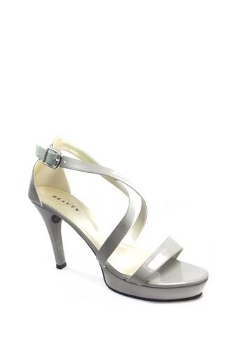 Jual Beauty Shoes Beauty Shoes 1054 Heels Grey Original