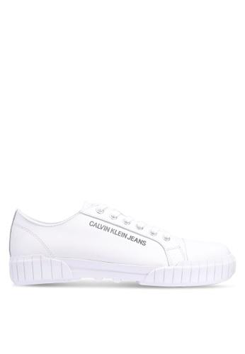 Calvin Klein white Burton Sneakers D2BF9SHCD69079GS_1