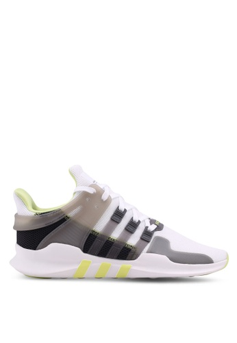 adidas white adidas originals eqt support adv w AD372SH0SUVZMY_1