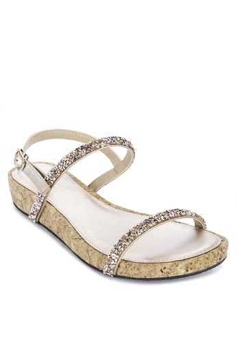 CLN pink Alessandra Ankle Strap Sandals FC18FSH7AD7C23GS_1