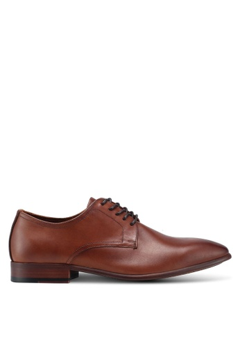 ALDO brown Altenburg Lace Ups B9BF4SH217A215GS_1