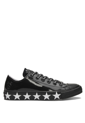 53845e8c9bca Converse black Converse X Miley Cyrus Chuck Taylor All Star Stars Inspired  Ox Sneakers 4A89CSH2947672GS 1