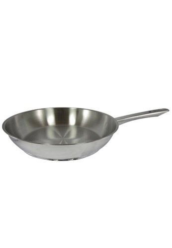 METRO silver 24cm Stainlesss Steel Open Fry Pan 3ADC3HL02349C7GS_1