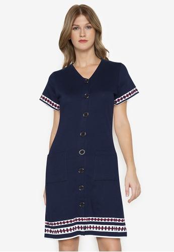 Blued blue Shayla Dress 02BF8AA944499FGS_1