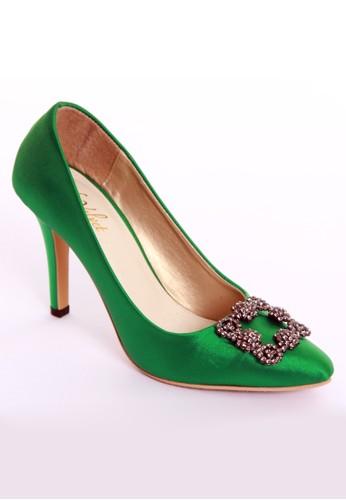 De Velvet Marykate Green