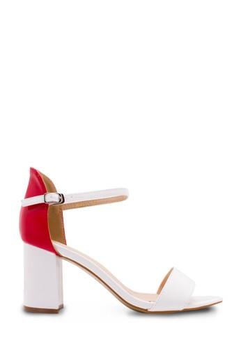 Sepatu Wanita Mid Heels Putih