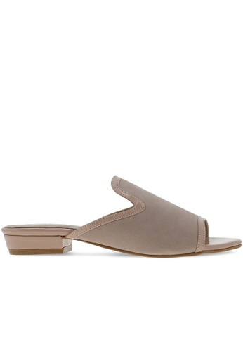 MAYONETTE brown Mayonette Ariel Flats - Nude FC668SHEBD4692GS_1