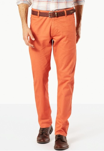 Dockers orange Dockers Alpha Original Khaki Autumn Leaf DO282AA62IZTSG_1