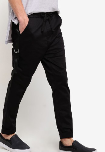 esprit outlet 台灣抽繩窄管長褲, 服飾, 長褲