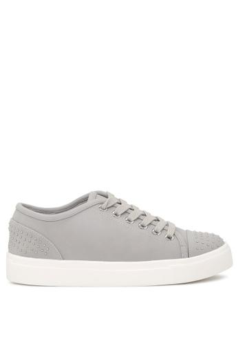 London Rag grey Casual Studded Sneakers SH1717 BD391SH47A71ADGS_1