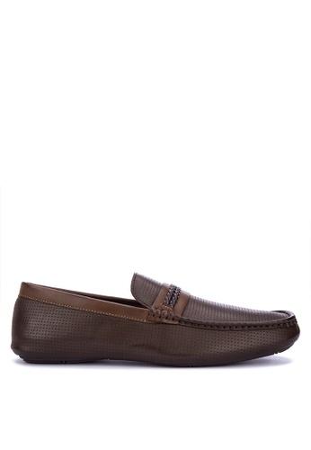 Mendrez brown Adrien Loafers & Moccasins 53542SHC34BC8BGS_1