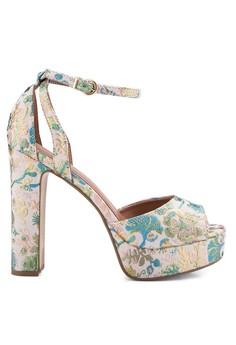 Margot Jacquard Platform Heels
