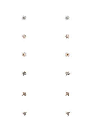ALDO gold Larawia Pierced Earrings 35EE4AC9BF4125GS_1