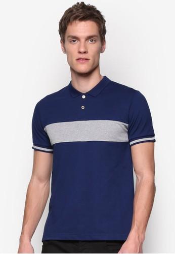 對比色塊 POLO 衫, 服飾,zalora時尚購物網的koumi koumi Polo衫