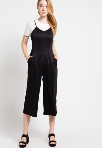 B.L.F black and white Ammelyn Set Jumpsuit BL612AA03ESAID_1