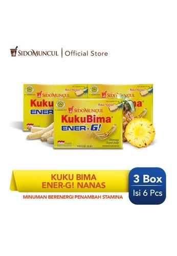 Sido Muncul yellow Kuku Bima Ener-G Nanas 3x6's - Minuman Berenergi Penambah Stamina 4081CES9F407CDGS_1