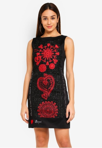 Desigual black Scarlett Shift Dress C67EAAA5188AE4GS_1