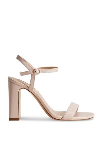 Mango pink Leather Heels 68C30SHDCA0AB8GS_1