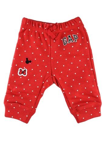 GAP red Disney Polka Dots Pants 6557FKA202699BGS_1
