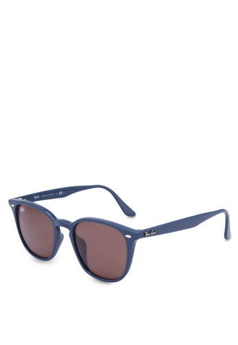 Ray-Ban 黑色 Highstreet RB4258F Sunglasses 91D91GL1D973A7GS_1