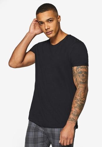 ESPRIT 黑色 短袖T恤 73187AA88F34EBGS_1