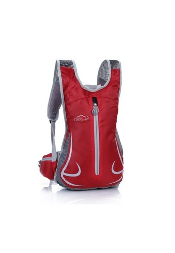 Local Lion red Local Lion Lightweight Cycling Backpack Casual Daypack Bag 12L (Red) LO780AC05VMWMY_1