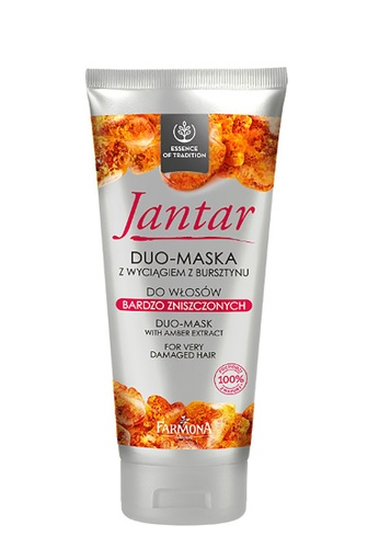 Farmona JANTAR Duo-Mask With Amber Extract For Very Damaged Hair 09B5EBE6D4C2D8GS_1