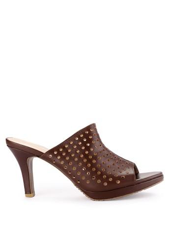 Andre Valentino brown Ladies Shoes 81323Za A7105SHD5F4633GS_1