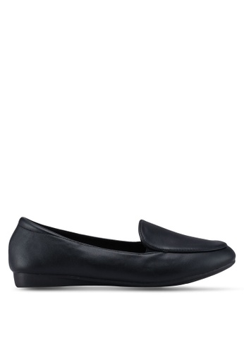 Louis Cuppers 黑色 Classic Loafers AC794SHB63716BGS_1