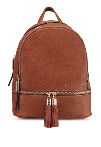 Forever New brown Wendy Backpack 5BE35ACDEB4CD3GS_1