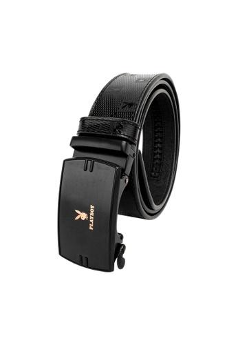 Playboy black 35mm Automatic Belt 2022CACB0E7F30GS_1