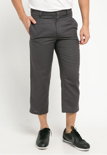 Sparse Label grey ANKLE PANTS 1053EAA7A2E6CDGS_1
