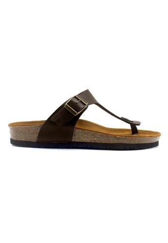 SoleSimple brown Berlin - Dark Brown Leather Sandals & Flip Flops 7D7C2SH73A6257GS_1