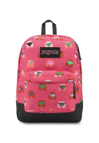 Jansport pink Jansport Black Label Superbreak Beach Bums Backpack - 25L E56B1ACF00A256GS_1