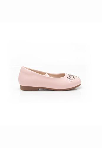 Elisa Litz 粉紅色 PRINCESS RAPUNZEL FLATS 儿童 -  粉色 2690BKS18C3C41GS_1