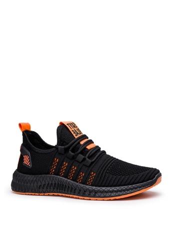 Twenty Eight Shoes 黑色 時尚網布運動鞋 VMT11 1ADD8SHBD9A87EGS_1