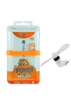 Powerbank 12000mAh with FREE Mini USB fan for Iphone 5/5s/6/6s/6+