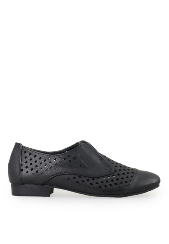 Footspot black Lady Donna - Trendy Oxford Shoes 8C6D6SHEB9BC9AGS_1