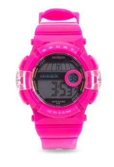 Girls Rubber Strap Watch MXPO-699E