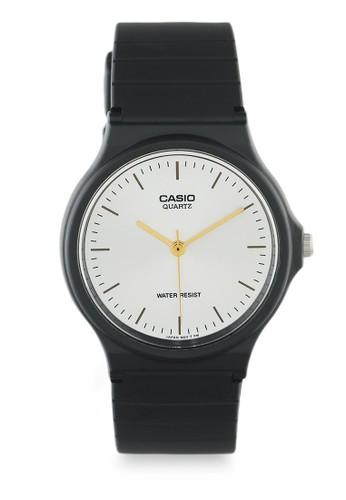 Casio black Casio Jam Tangan - Black White - Silicon - MQ-24-7E2LDF 88F9CAC1900E87GS_1